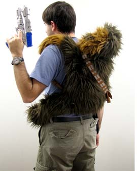 chewbaccaplushbackpack1 Chewbacca Plush Backpack