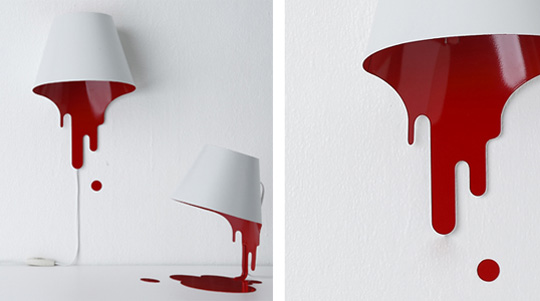 liquid lamp Wet Paint Lamp