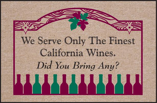 wine doormat Wine Doormat