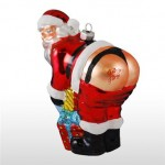 mooning santa