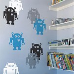 wall robot sticker