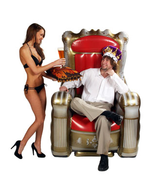 inflatable throne Inflatable Throne
