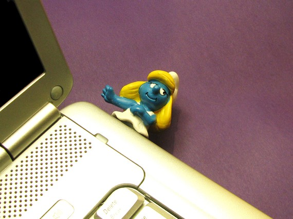 smurfette usb flash drive Smurfette USB Flash Drive