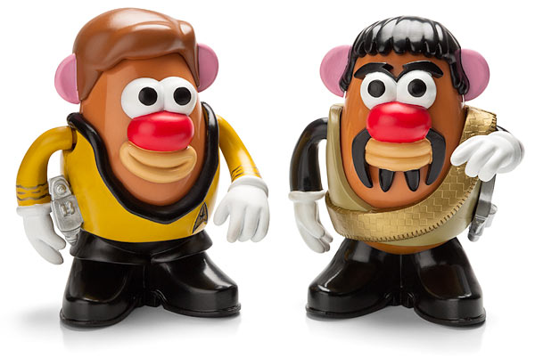 star trek potato heads Star Trek Mr. Potatoheads