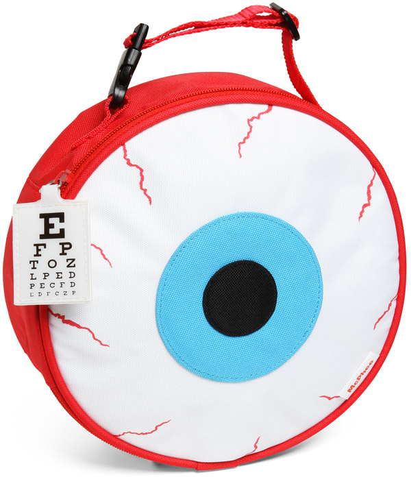 eyeball lunch bag Eyeball Lunch Bag
