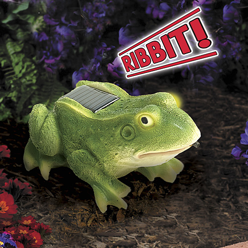 motion activated frog Motion Activated Solar Frog