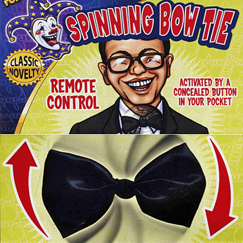 spinning bowtie Remote Control Spinning Bow Tie