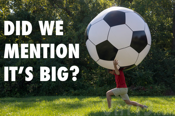 giant inflatable soccer ball Giant Inflatable Soccer Ball