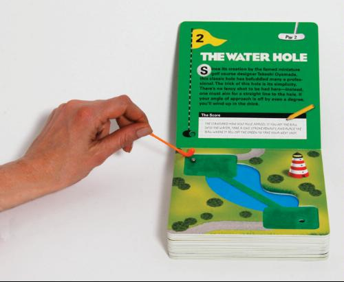 miniature golf book Playable Miniature Golf Book