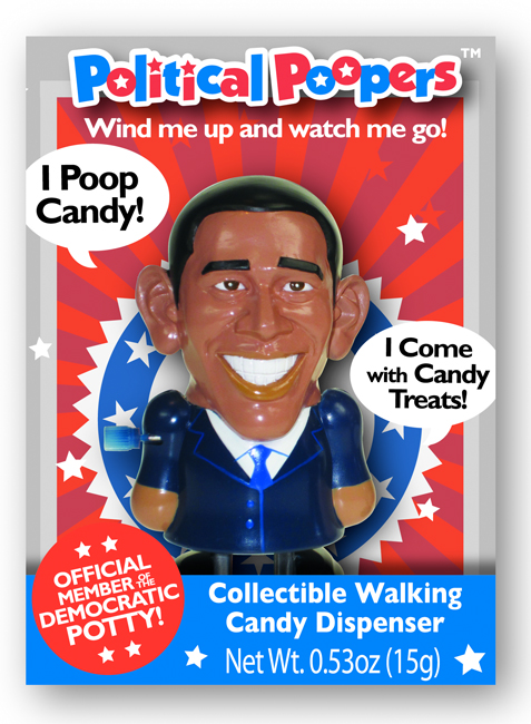 poopcandy obama Wind Up Candy Pooping Obama