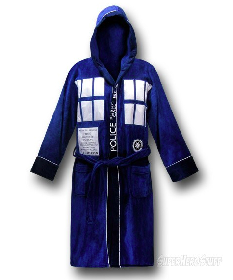 tardis robe Doctor Who Tardis Bath Robe