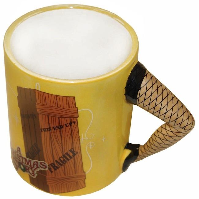 christmas story leg lamp mug Christmas Story Sculpted Leg Lamp Mug