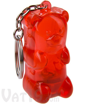 gummy bear keychain Squeezable Gummy Bear Keychain Light