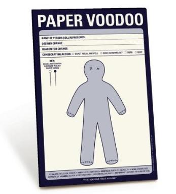 paper voodoo Paper Voodoo Notepads
