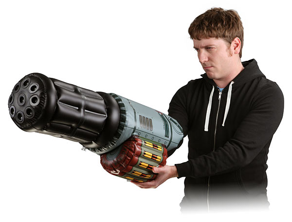 inflatable minigun arm Inflatable Mini Gun Arm