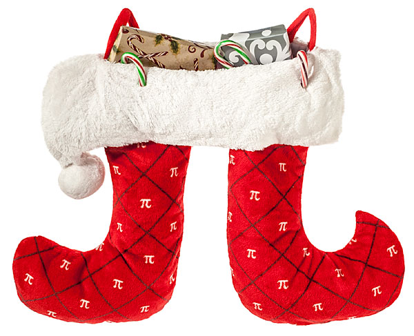 pi christmas stocking Pi Christmas Stocking