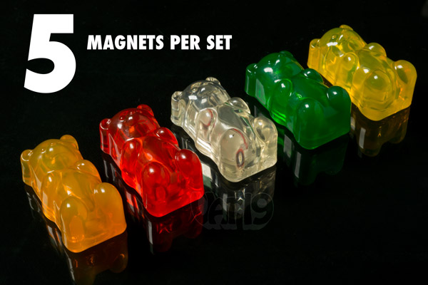 gummy bear magnets Magnetic Gummy Bears