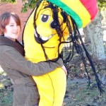 Giant Stuffed Rasta Banana