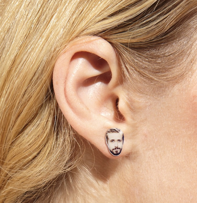 ryan gosling earing Hey Ryan Gosling Earrings